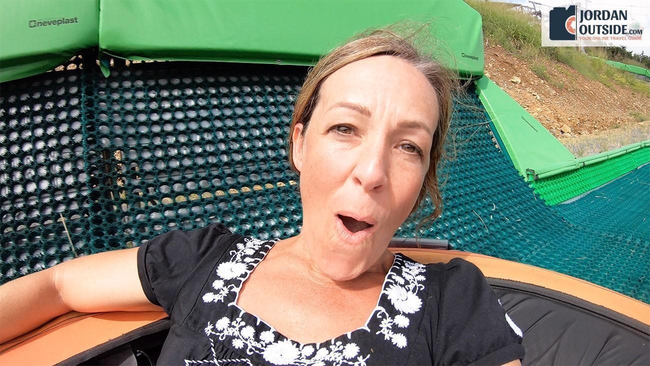 Julie on Schooner Ride