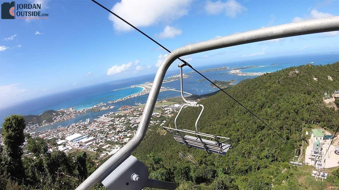 Chairlift to the Flying Dutchman Zip Line