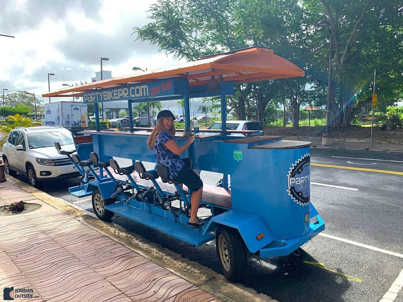 Party Bike in Puerto Rico