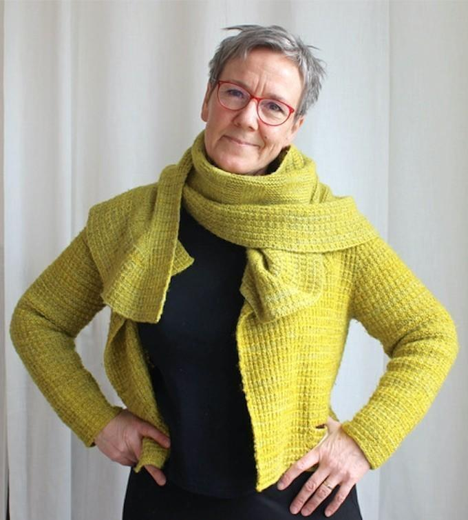 The art of knitting beautiful top-down sweaters with the 'Ziggurat' method