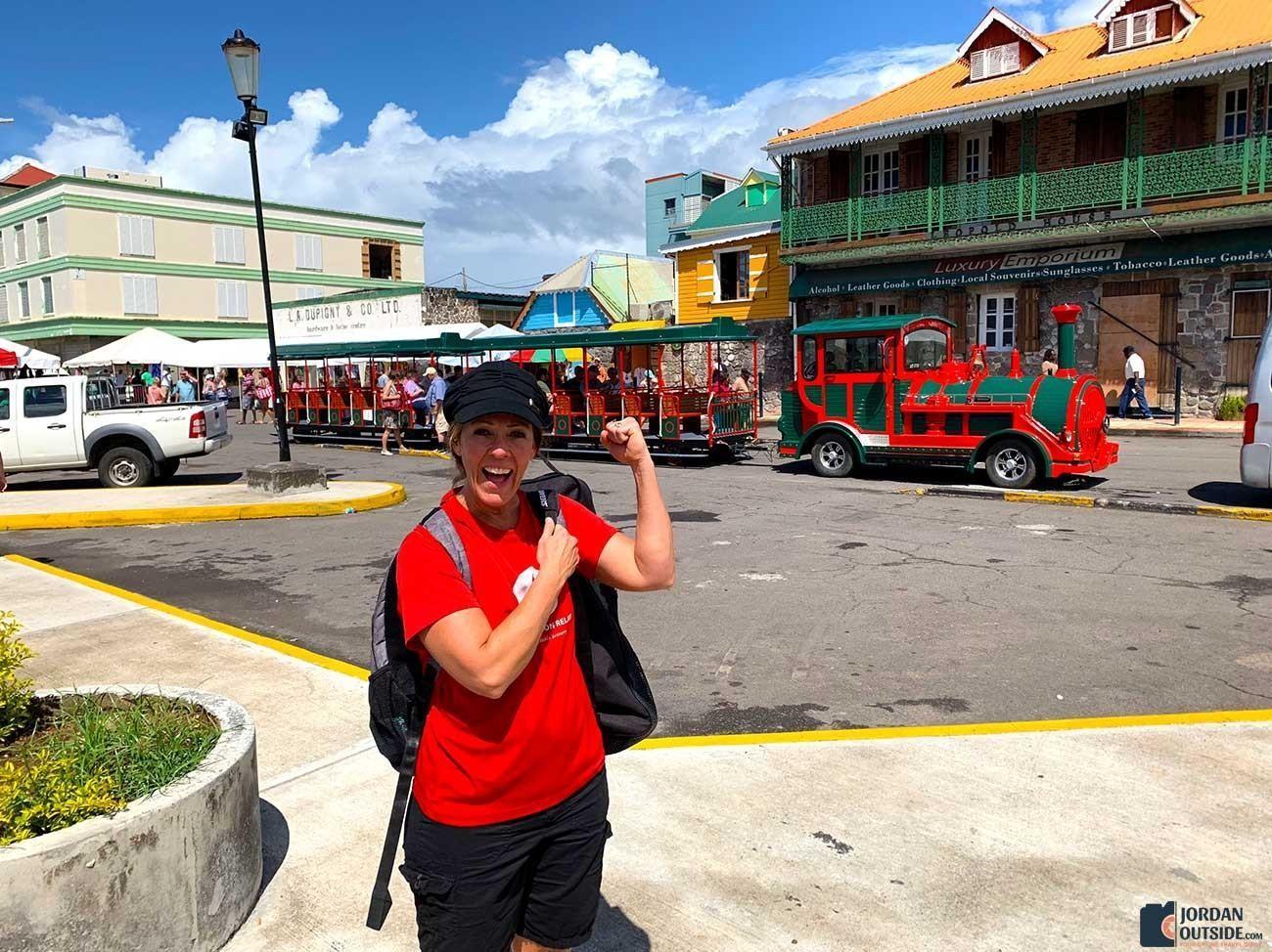 Trolly Train on Dominica