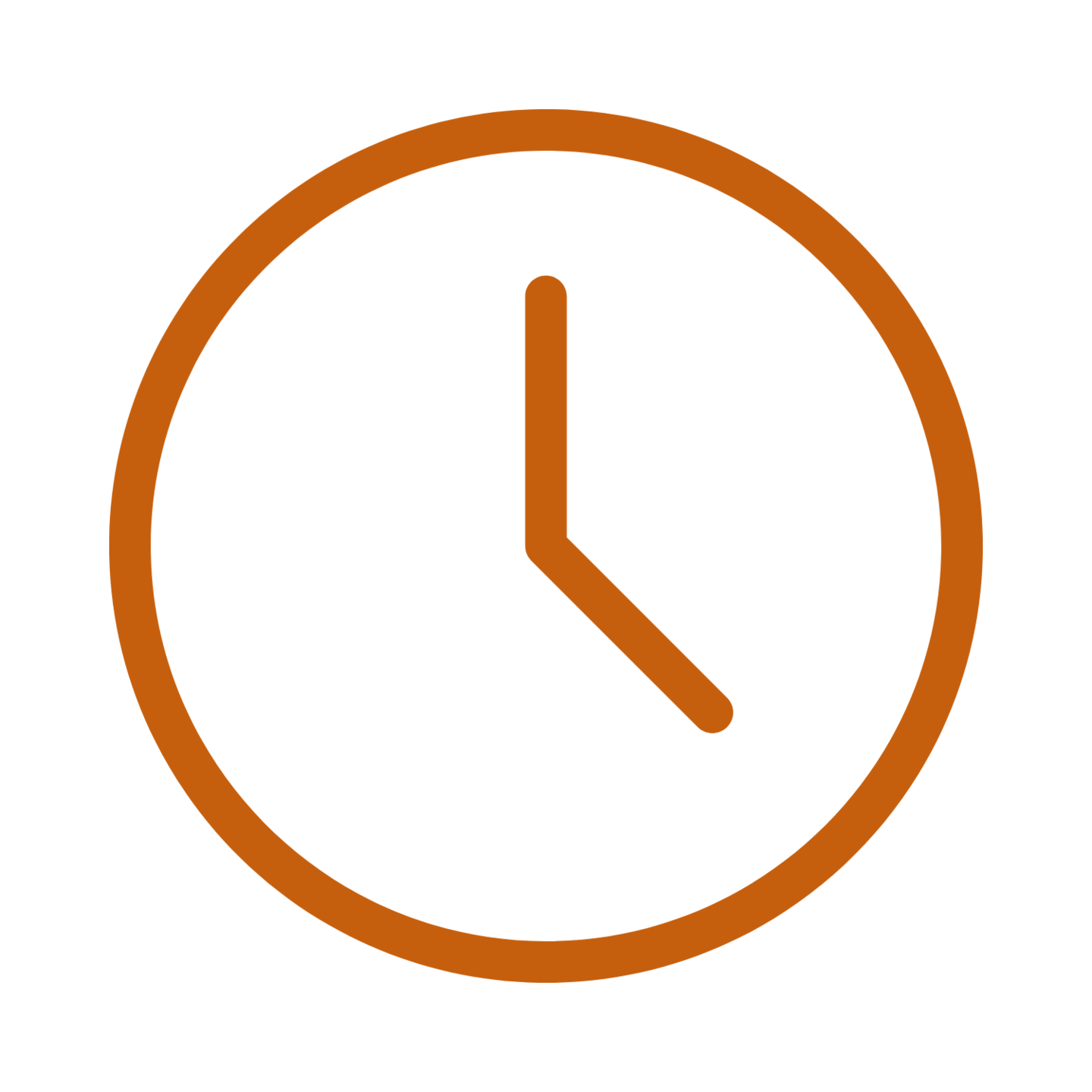 orange clock adaptable