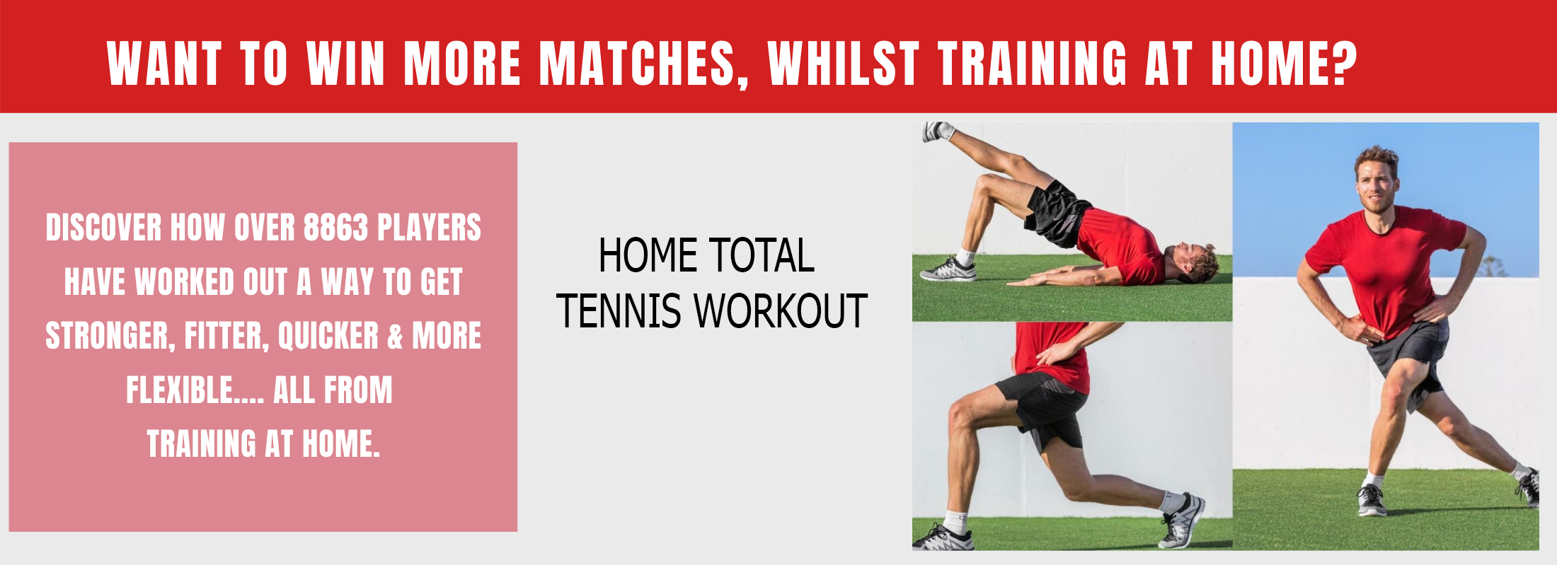 Home Tennis Workouts
