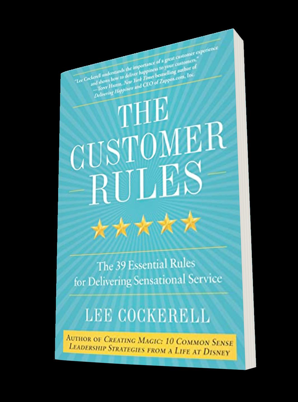 Lee Cockerell - Customer Rules