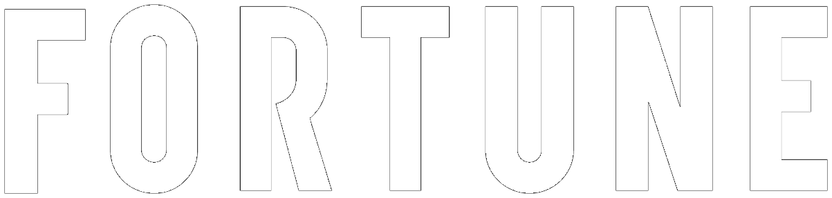 fortune magazine logo white