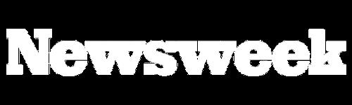 newsweek logo white