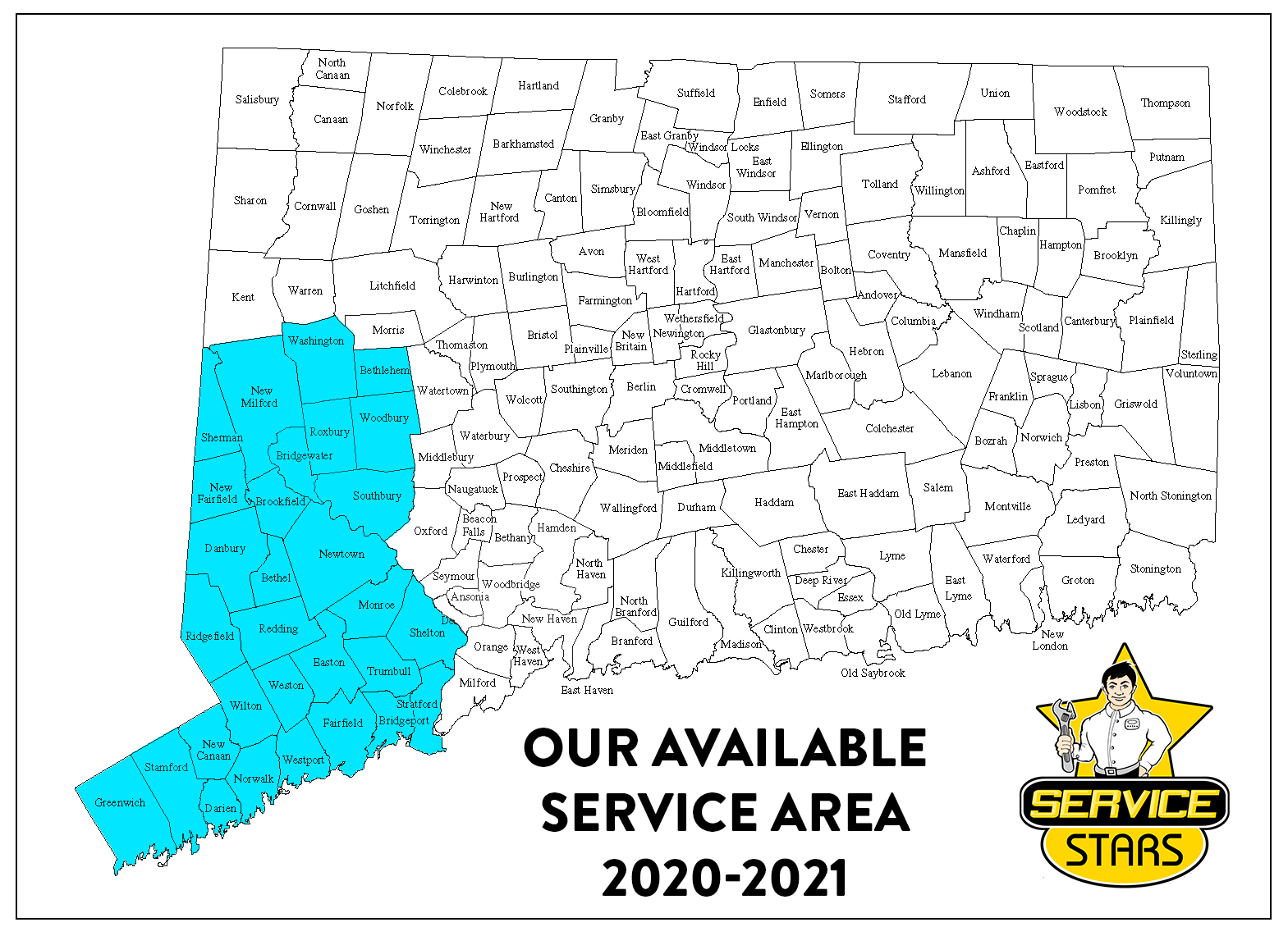 Service Stars - Servicing Area