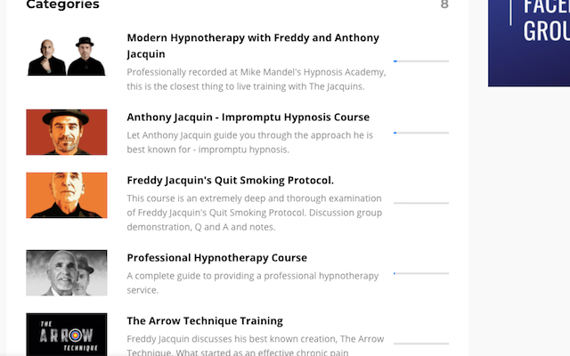 HYPNOSIS COURSES ON ZOOM
