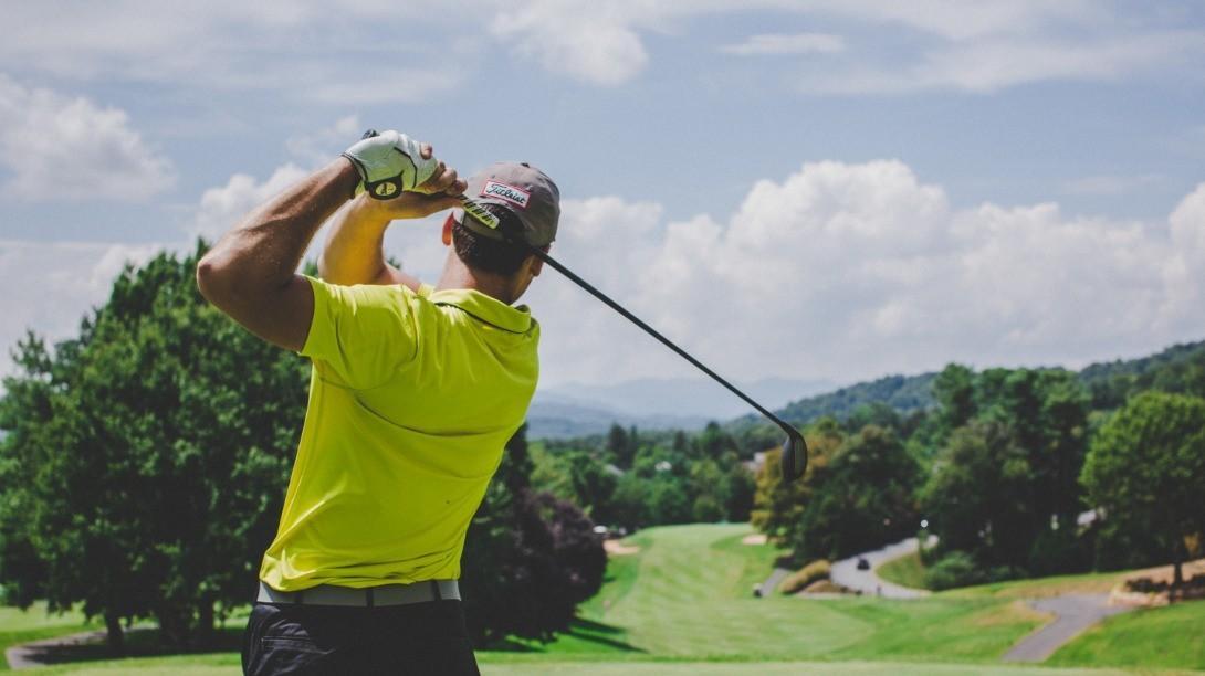 Golfsving vaatii liikkuvuutta kehosta