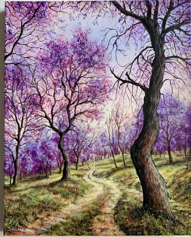 Purple Trees Tutorial