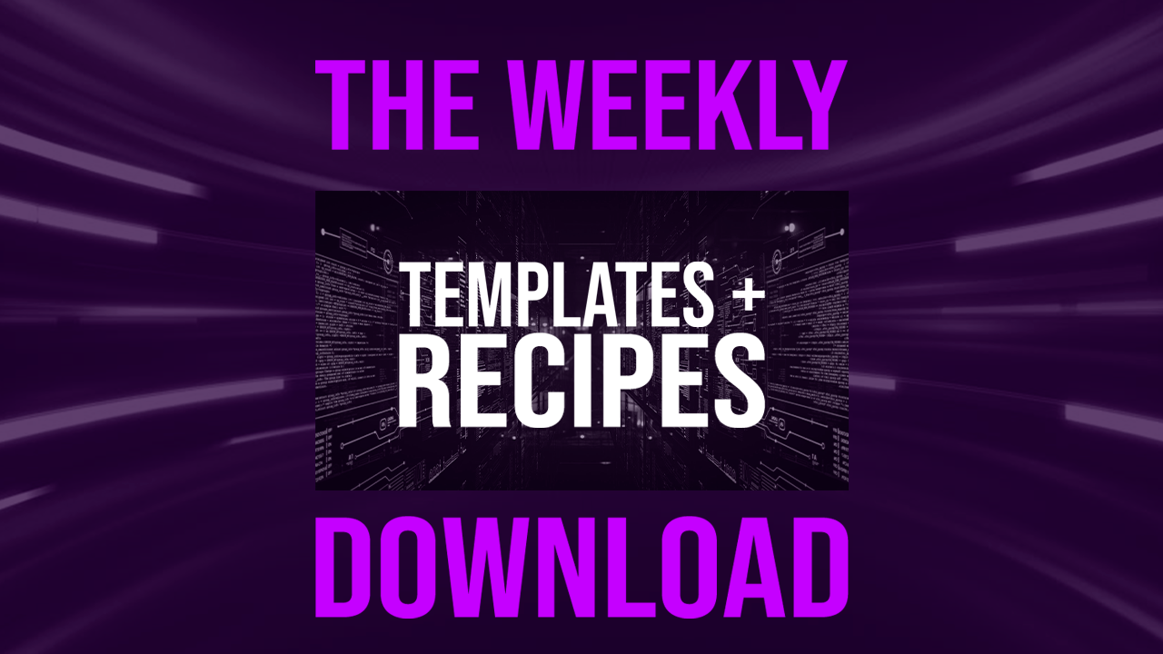 Sign up and discover templates for making music at the Producer Dojo Weekly Download
