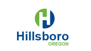 Brain-based time management: City of Hillsboro logo