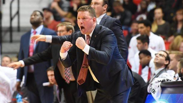 Texas Tech Men's Basketball Coach Chris Beard