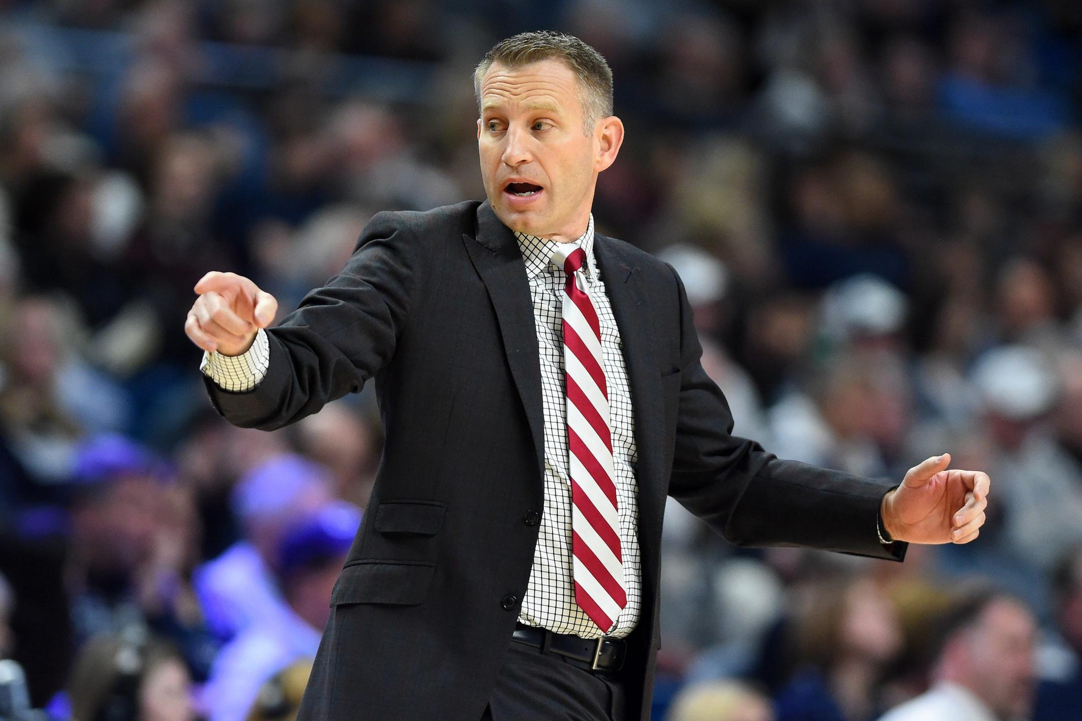 University of Alabama Men's Basketball Coach Nate Oats