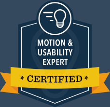 Motion Usability Expert  Certified