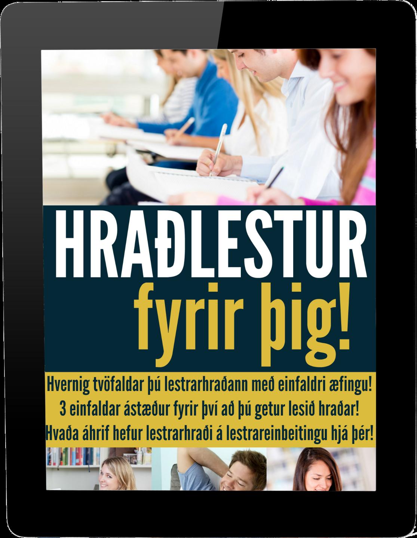 Rafbókin - Hraðlestur fyrir þig!