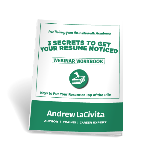free webinar 3 secrets to get your resume noticed