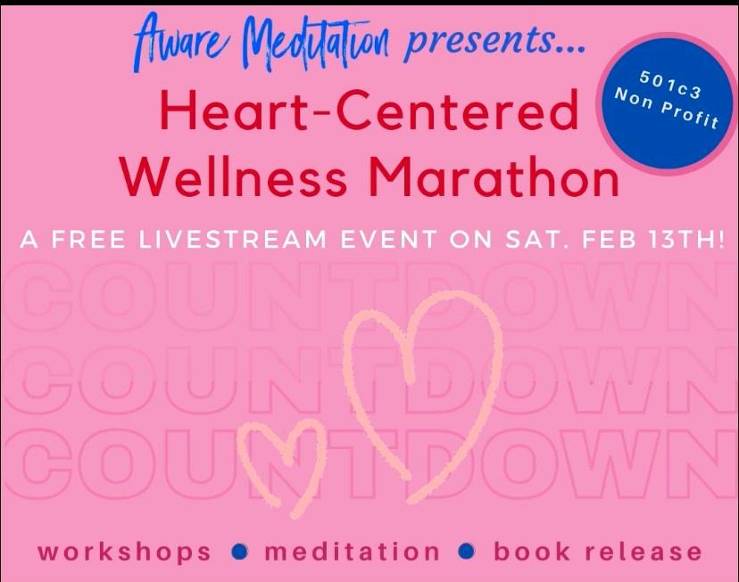 Heart Centered Livestream Flyer
