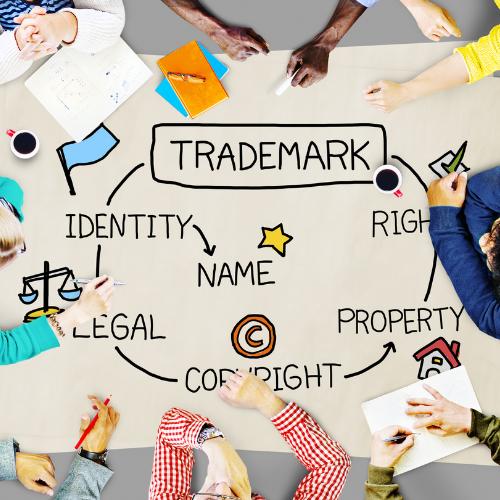 Copyright versus trademark