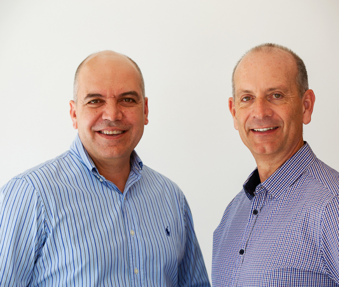 business coaches Harry Raftos and David Crook