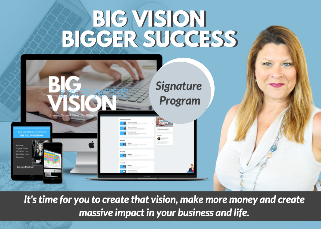 Big Vision Bigger Success