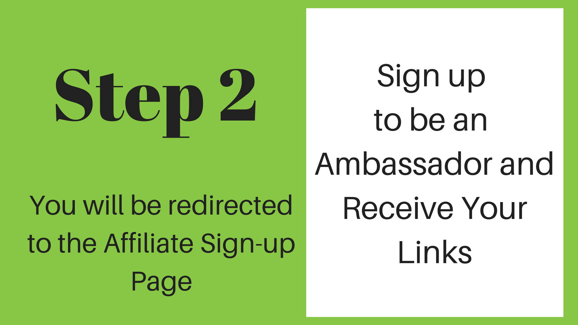 Affiliate Info and Registration