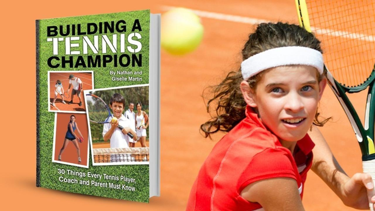 building a tennis champion book