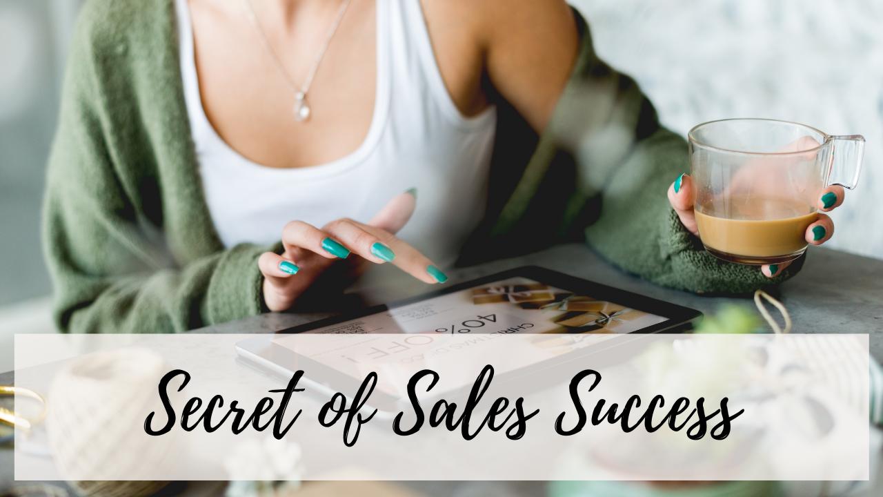 Secret if sakes success