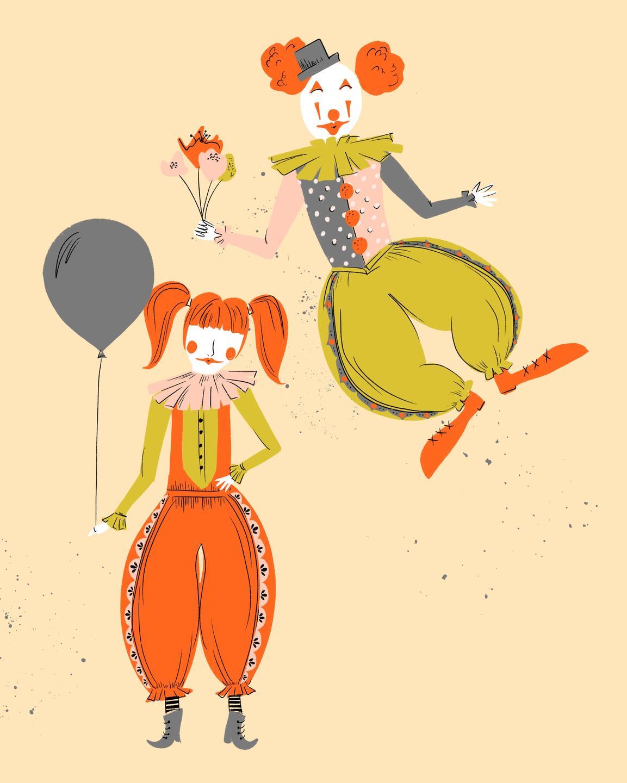 clown illustration