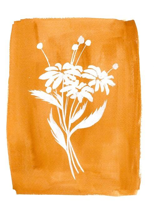 wildflower painting