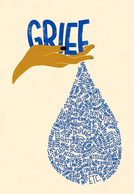 grief words art