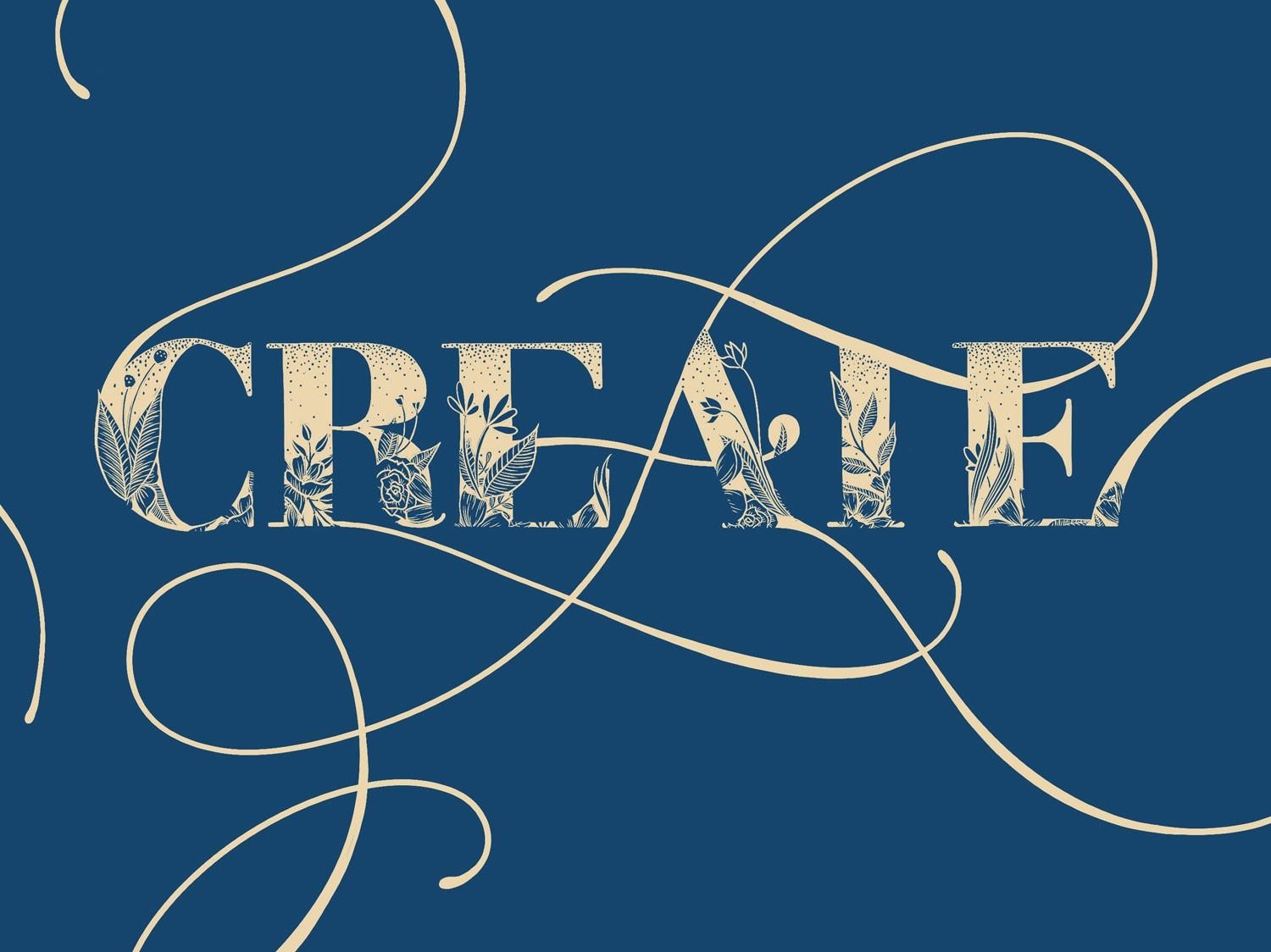 create lettering