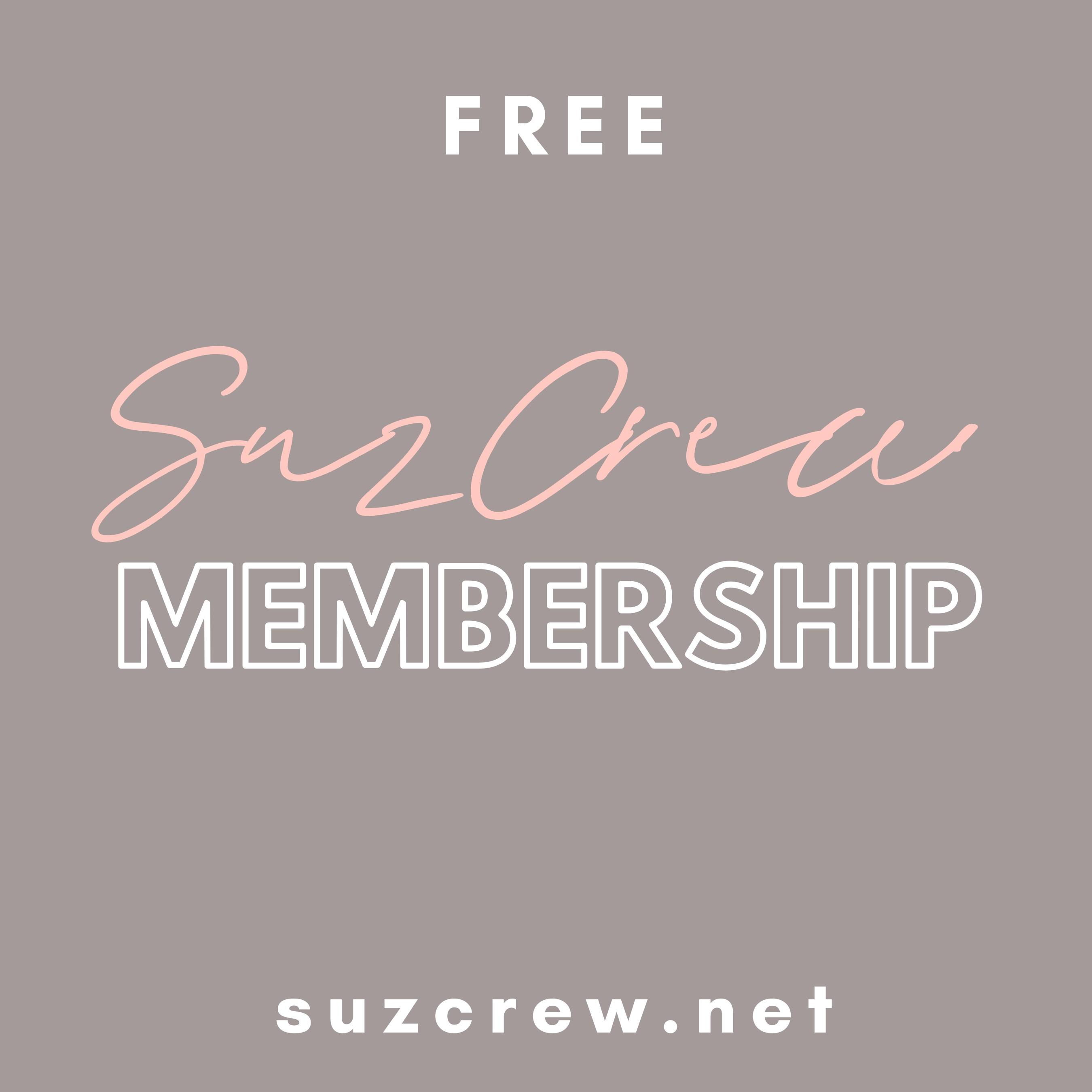 suzcrew membership