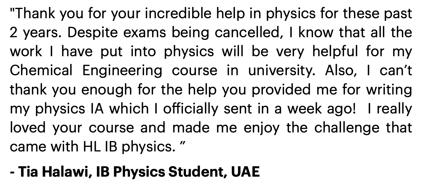 IB Physics IA Guide Review 2