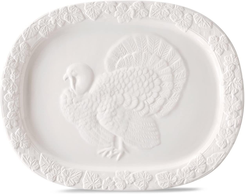 Thanksgiving turkey serving platter Martha Stewart
