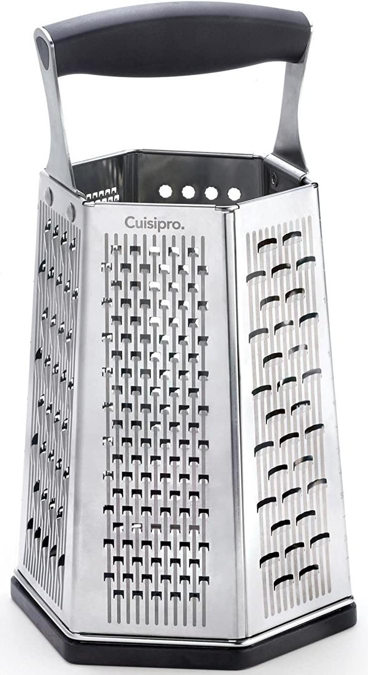 six-sided Cuisipro grate mult-purpose