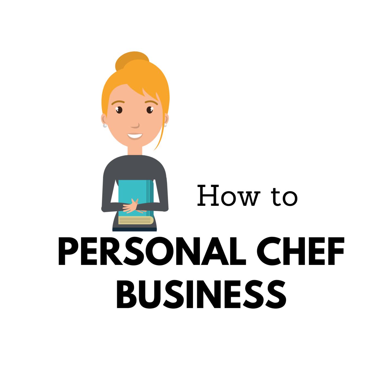 graphic design personal chef podcast cover art