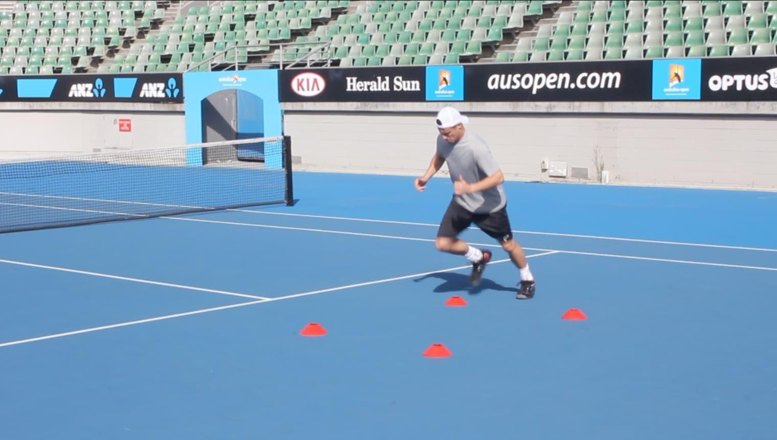 image tennis agility