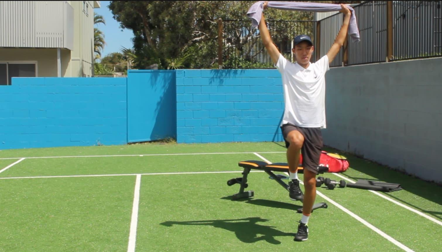 image tennis movement