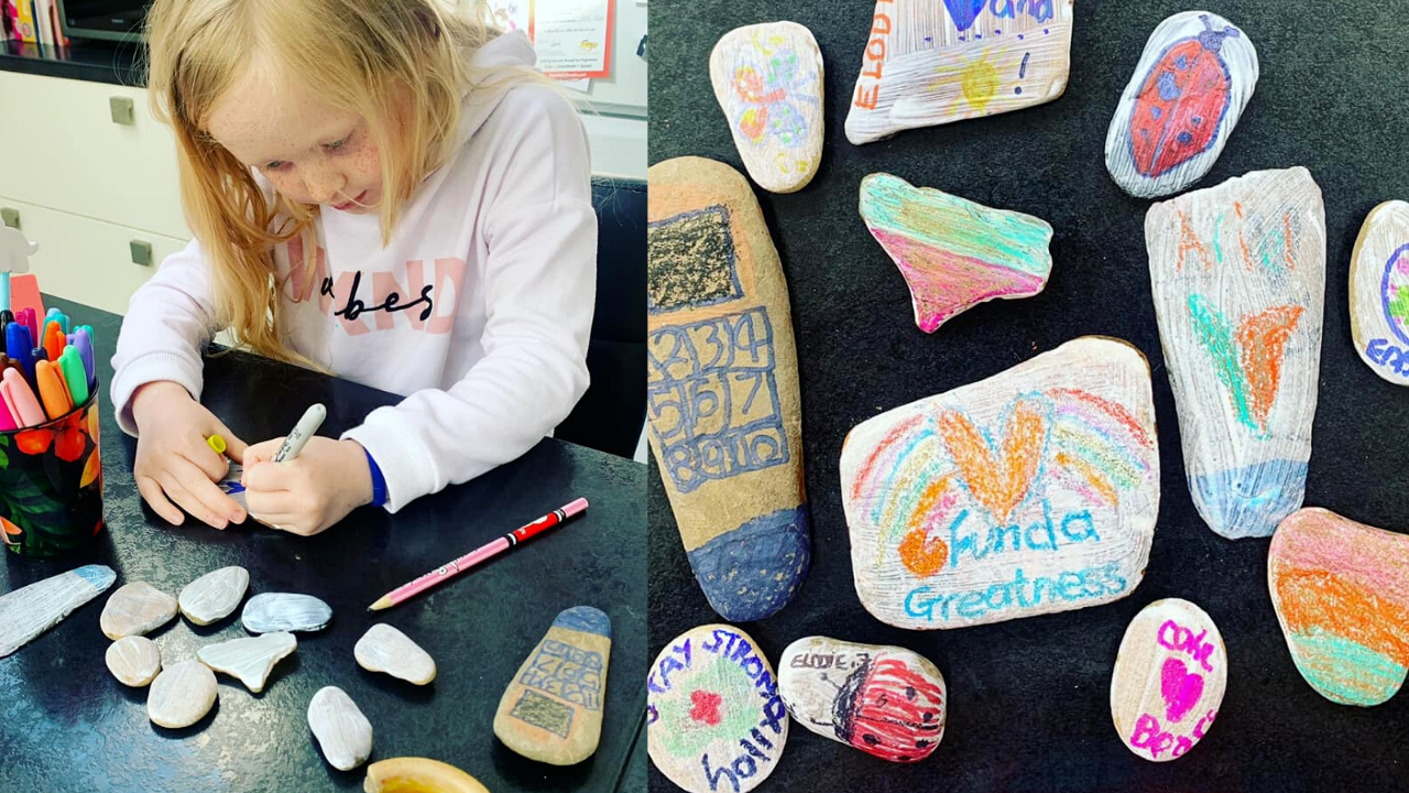 Child Taking Part In FUNDA Greatness