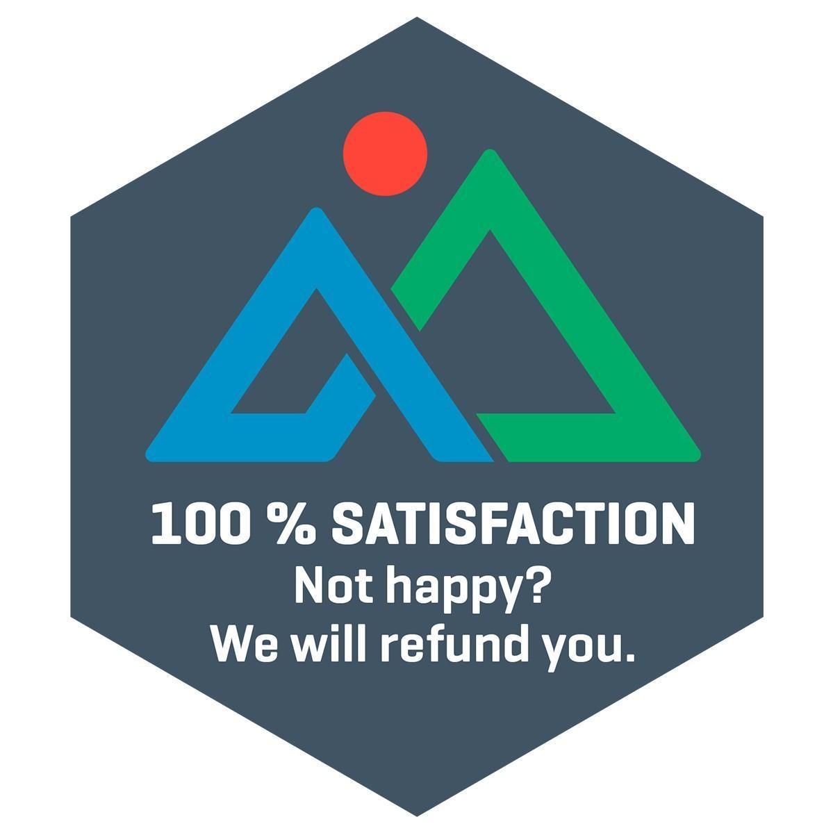 GOLH 100% Satisfaction Guarantee Crest