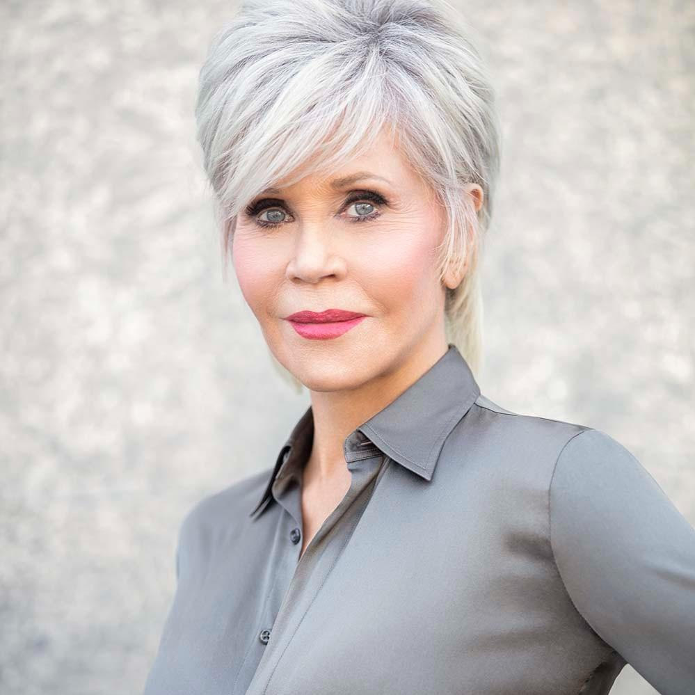 Jane Fonda endorses Malin Svensson and Nordic Body