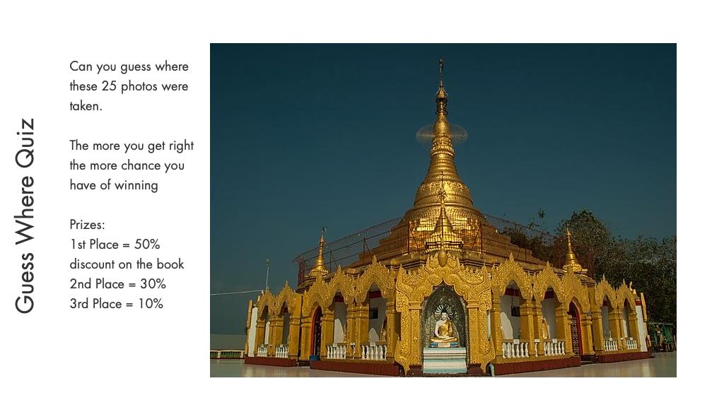 Golden temple in Myanmar