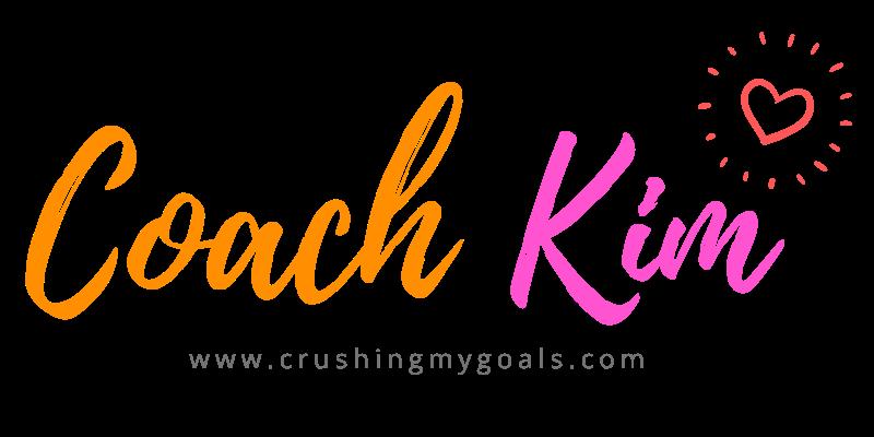 Logo: Coach Kim-running, journaling, life coach