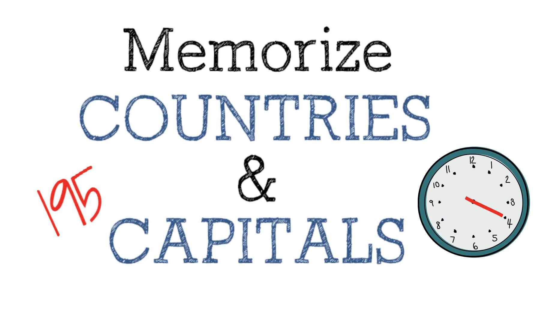 How to memorize countries and capitals memorize academy memorize 195 countries capital cities in less than 4 hours urtaz Images