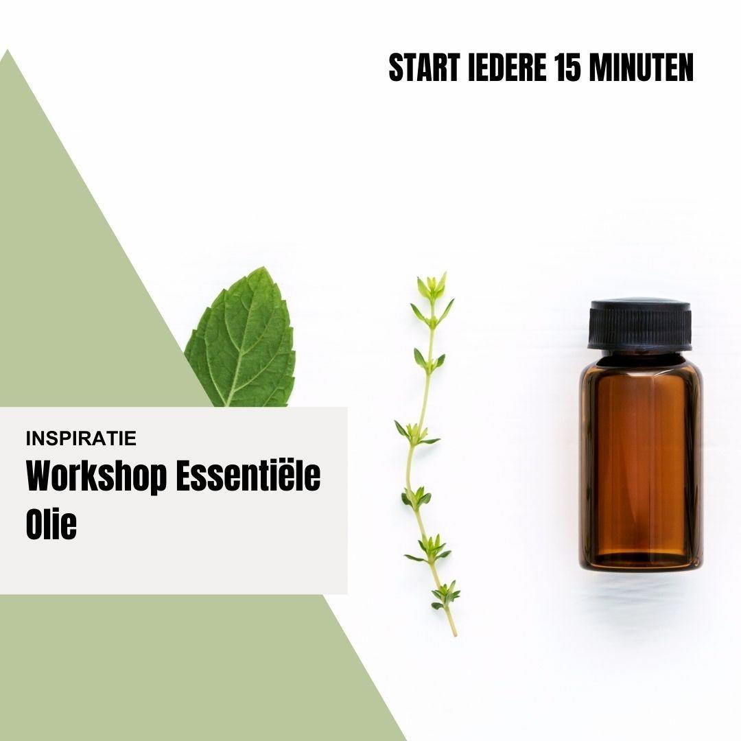 gratis workshop essentiële olie