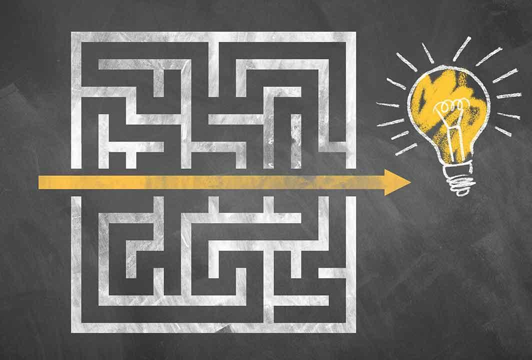 Break through the maze of confusion with your course