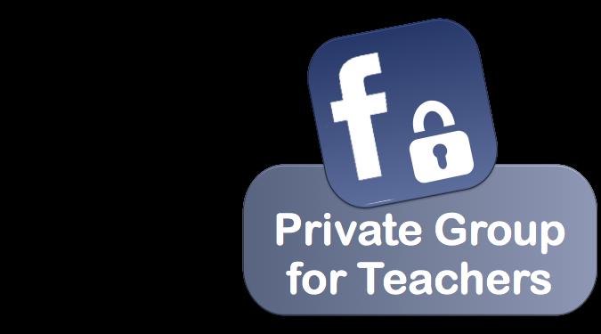 Facebook group for teachers