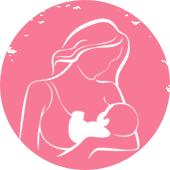 Breastfeeding Icon Silhouette