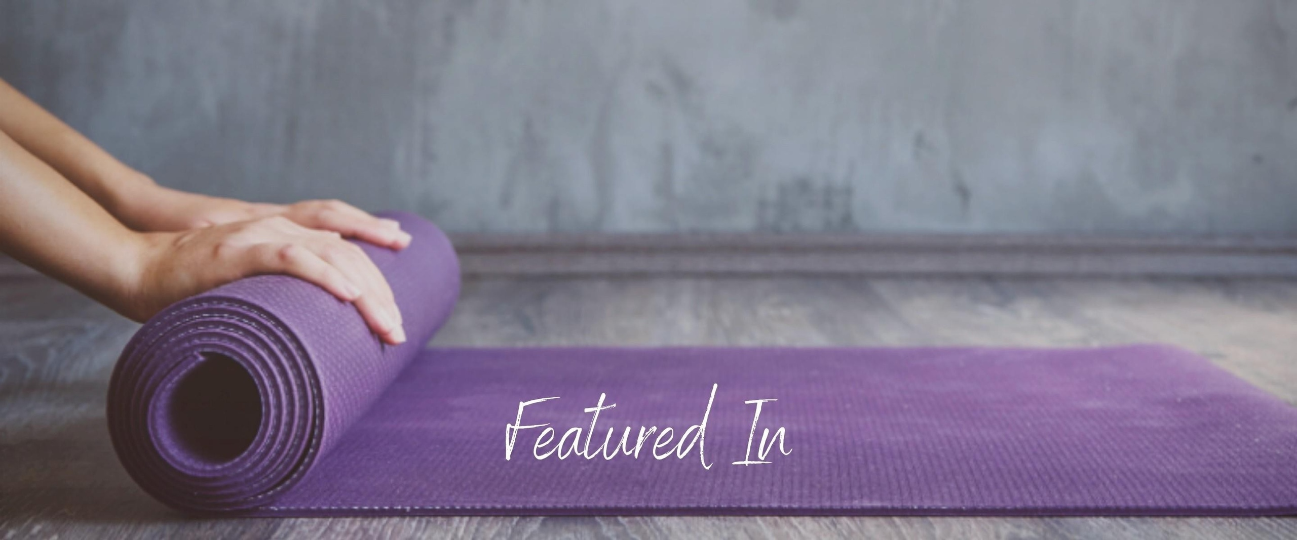 Yogamat Hands Rolling Featured In